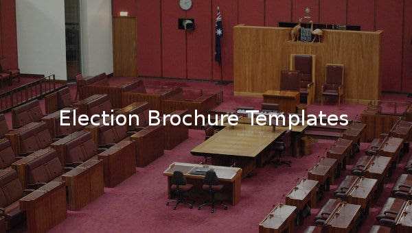 election brochure templates