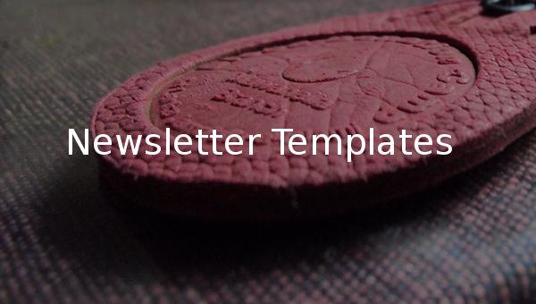 newsletter templatess