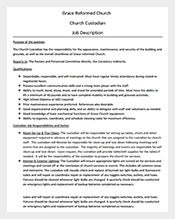 job description template 635 free word pdf format download