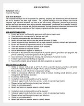 Coorporate-Paralegal-Job-Description-Free-PDF