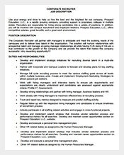 Corporate-Recruiter-Job-Description-Free-PDF