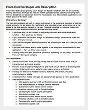 Job Description Template – 635+ Free Word, PDF Format Download ...