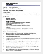 Human-Resource-Secretary-Job-Description-Free-PDF