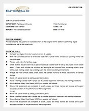 Lead-Custodian-Job-Description-Free-Word-Template