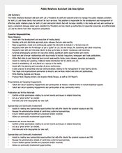 Public-Relations-Assistant-Job-Description-PDF-Free