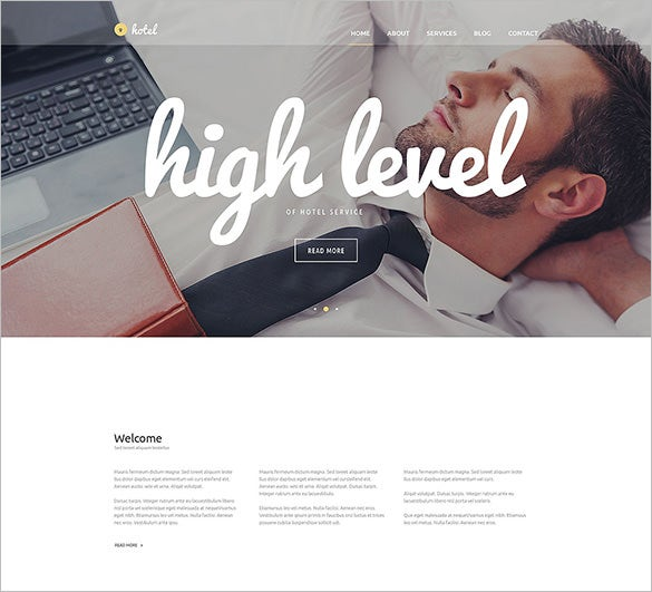 best hotel wordpress theme for you