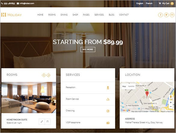 fantastic hotel wordpress theme1