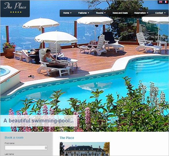 corporate hotel wordpress theme1