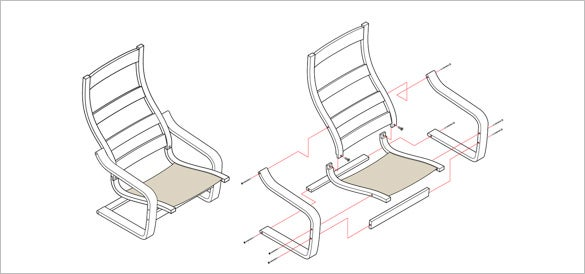 How-to-Create-Exploded-Isometric-Illustration-Chairs
