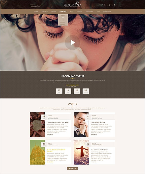 responsive nonprofit multi wordpress theme