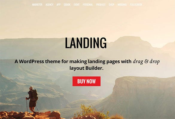 adventurous professional wordpress theme