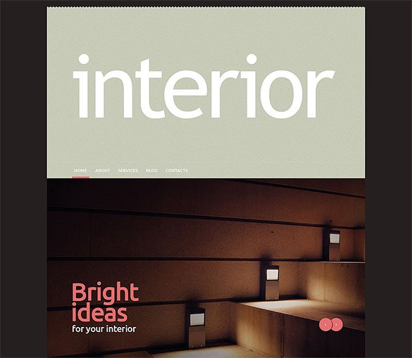 interior design flat wordpress theme