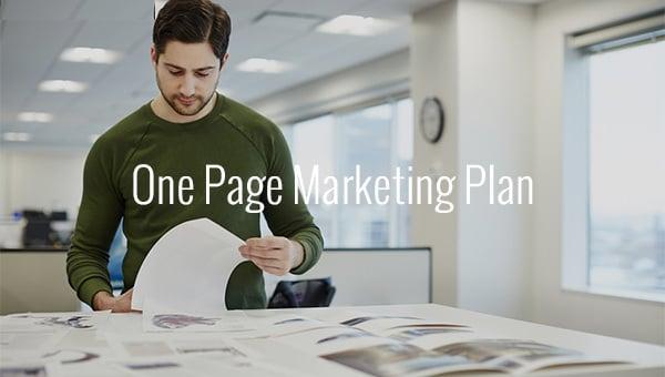onepagemarketingplan