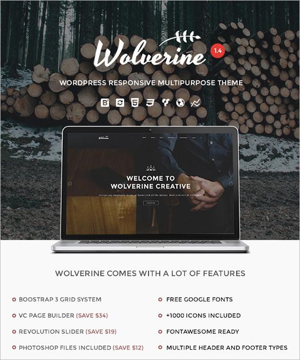 wolverine responsive multipurpose theme