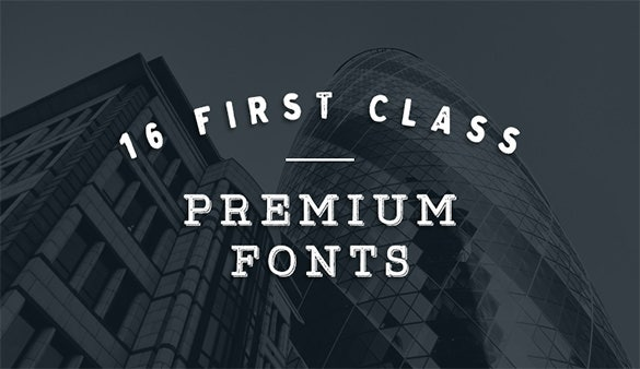 First-Class-Premium-Fonts---Save-Up-To-88%-on-This-Great-Deal