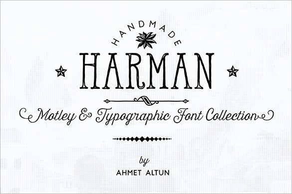 50%-Off-on-Harman-Font-Family