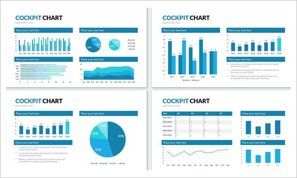 cockpit chart powerpoint presentation template