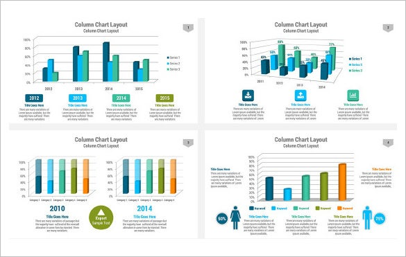 chart powerpoint presentation template download