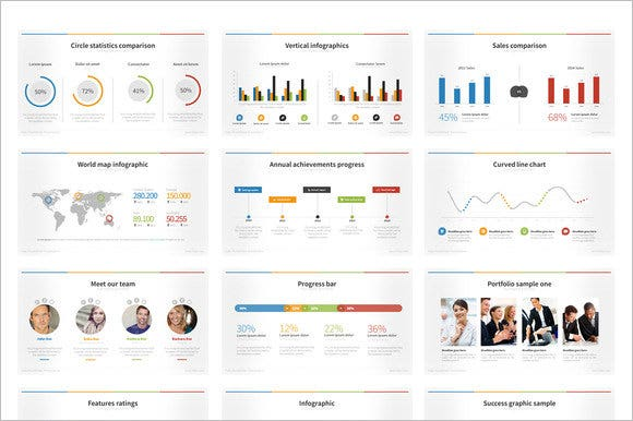 powerpoint chart template  free sample, example, format, Powerpoint
