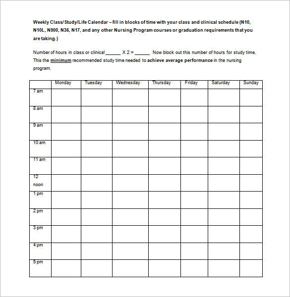 Smc.edu | This Is The Daily Schedule Template That You Can Use For Everyday  In The Week, Starting From Monday To Sunday. It Will Help You To Record  Your ...  Monday To Sunday Schedule Template