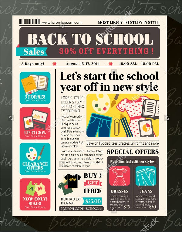 school newspaper template1