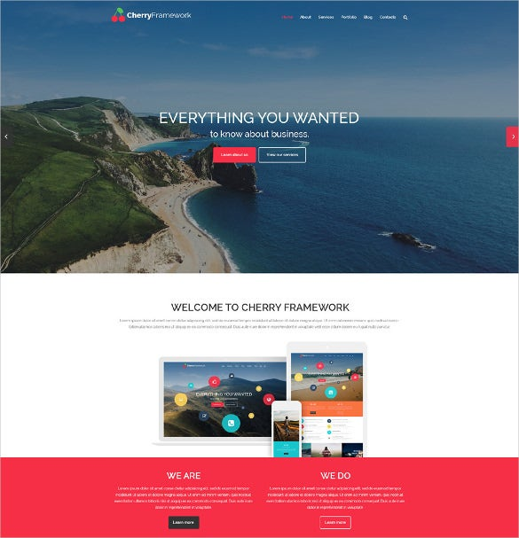 elagant free wordpress theme