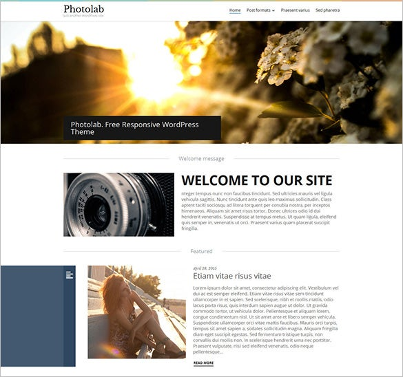 beautiful free wordpress theme