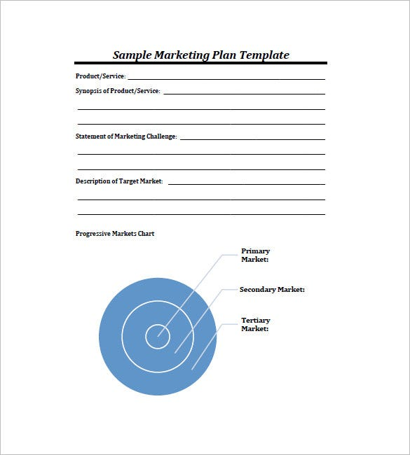 Simple Marketing Plan Template – 10+ Free Word, Excel, Pdf Format