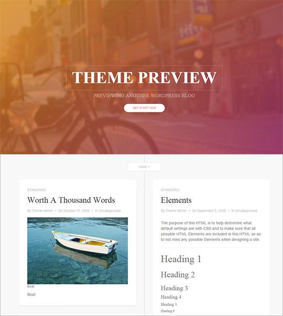 splendid free wordpress theme