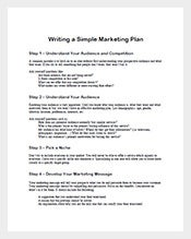free-simple-marketing-plan-template