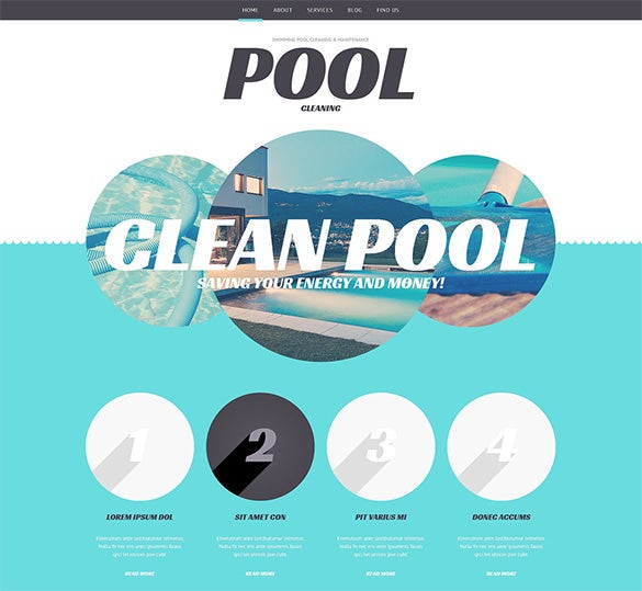 elagant cleaning company wordpress theme
