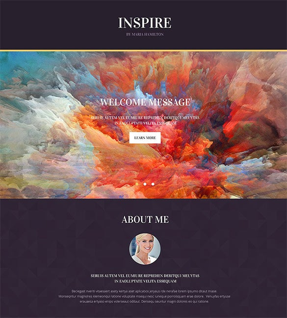 painting company landing page template