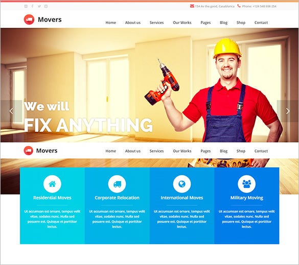 flexible mining company wordpress theme