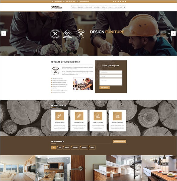 multi use mining company wordpress theme