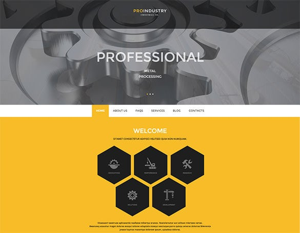 multi function use mining company wordpress theme