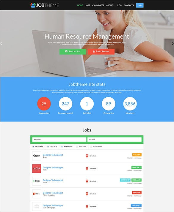 15  career  job portal wordpress themes  u0026 templates