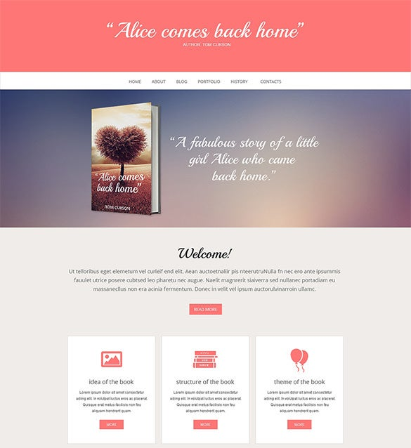 Book Review Wordpress Themes  Templates  Free  Premium