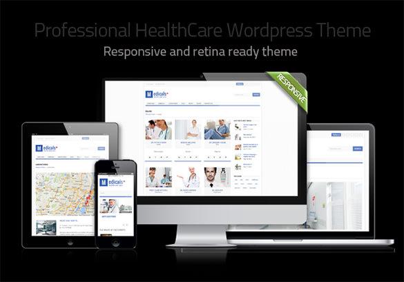 health medical labs wordpress theme