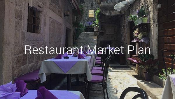 restaurant market plan