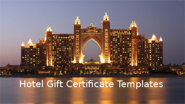 hotelgiftcertificatetemplate