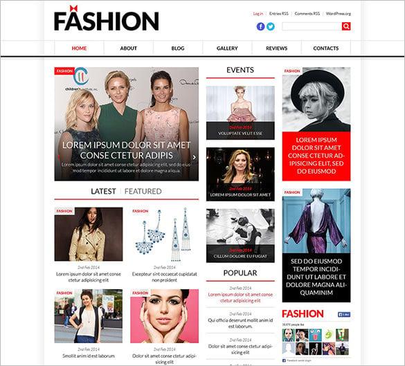 Model Portfolio Template: 11+ Model Portfolio WordPress Themes & Templates