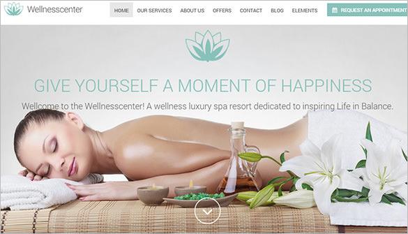 beauty spa massage salon wordpress theme