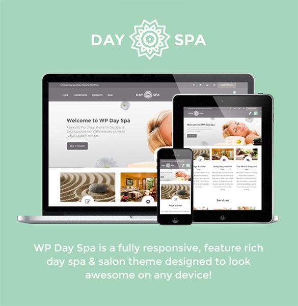 wordpress day spa salon wordpress theme