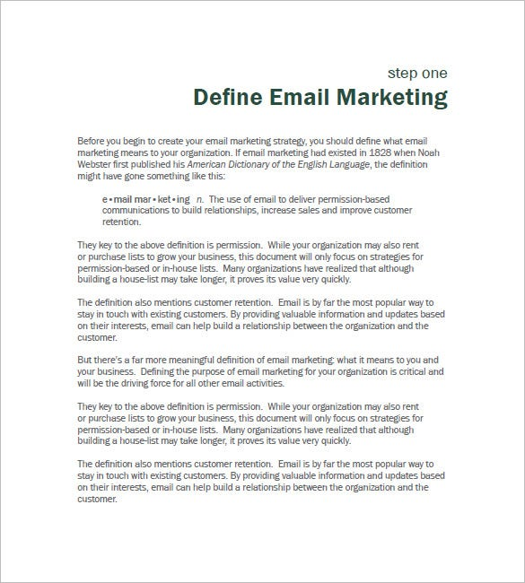 B2B Marketing Plan Template – 12+ Free Sample, Example, Format