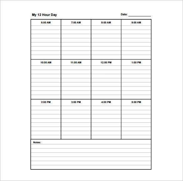 School Day Schedule Template  PetitComingoutpolyCo