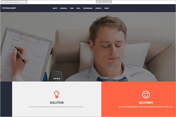 psychological practice wordpress theme