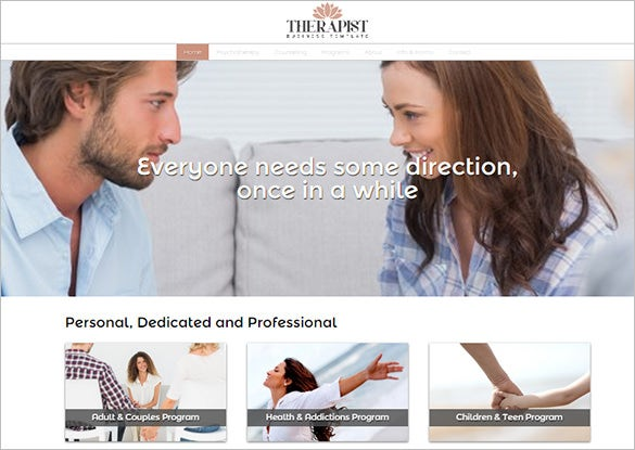 physiotherapist wordpress template