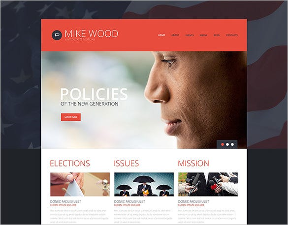 political board wordpress theme
