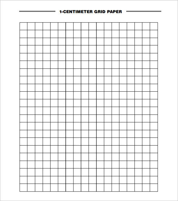 Charming 1 CM Grid Paper Template Download In PDF With Graph Paper Word Document