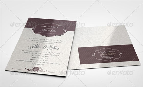 envelope label template